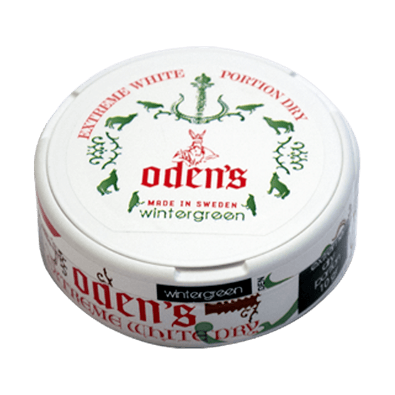 Odens Wintergreen Extreme White Dry Portion
