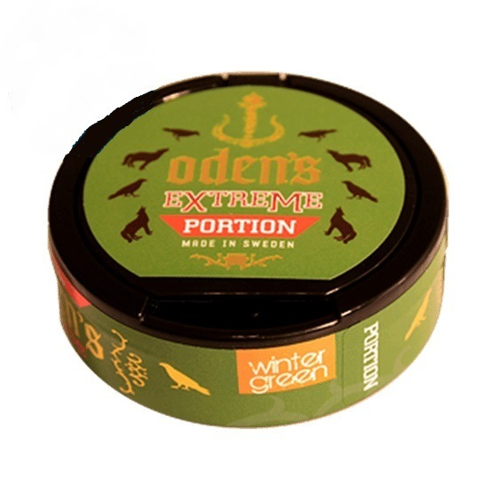Odens Creamy Wintergreen Extreme Portion