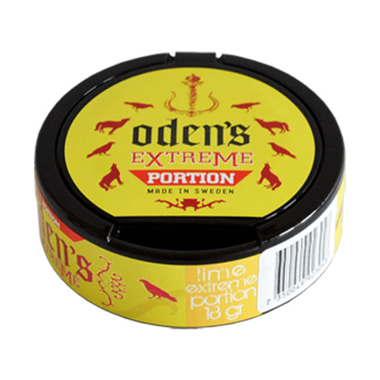 Odens Lime Extreme Portion