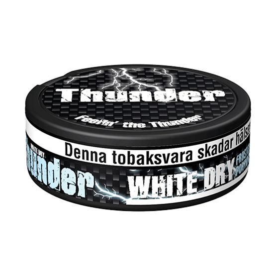Thunder Extra Strong Frosted White Dry