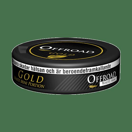 Offroad Gold White Mini Portion