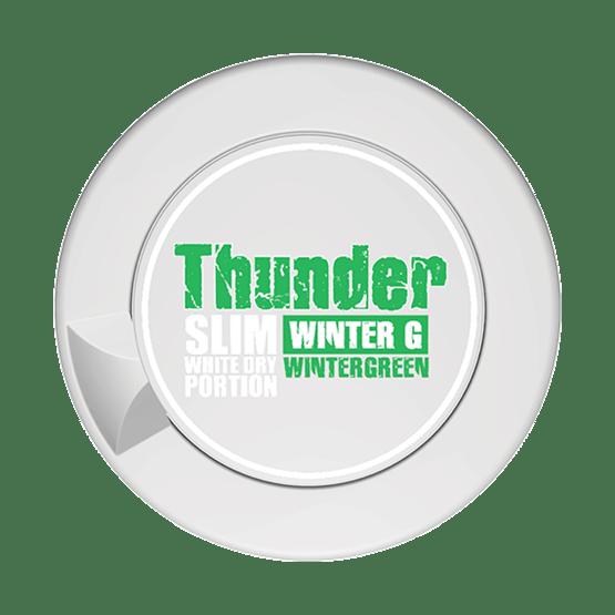 Thunder Wintergreen Slim White Dry