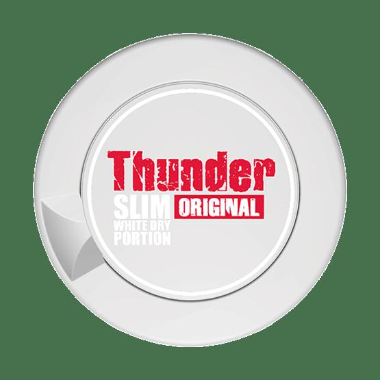 Thunder Original Slim White Dry Portion
