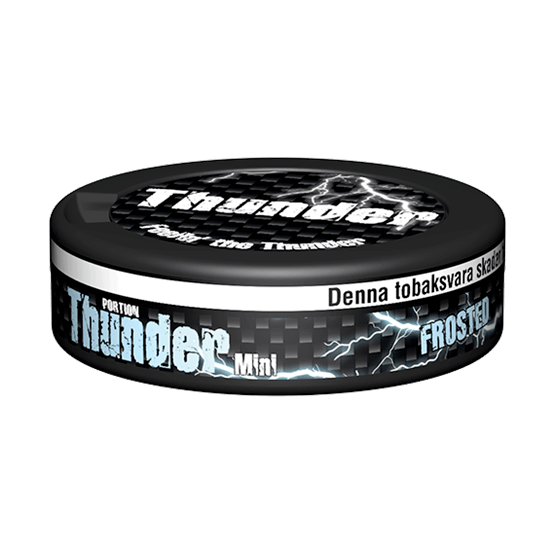 Thunder Frosted Mini Portion
