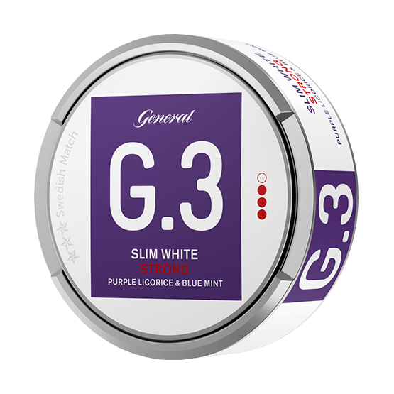 General G.3. Licorice Mint Slim White Portion