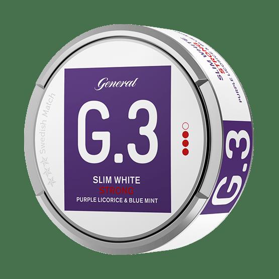 General G3 Licorice Mint Slim White Portion