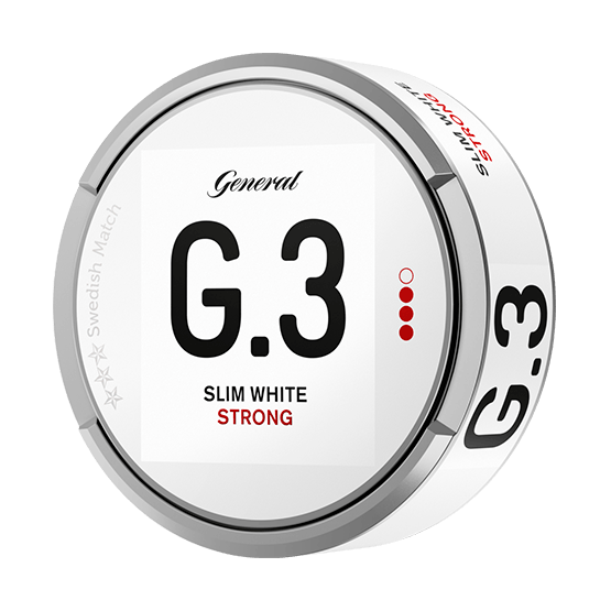 General G3 White Slim Strong Portion