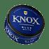 Knox Blue White portion