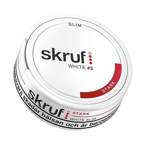 Skruf Stark Slim White Portion
