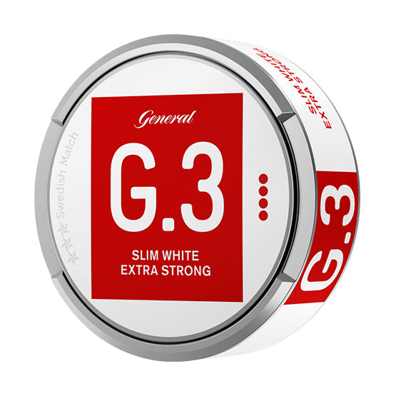 General G.3. Extra Strong Slim White Portion