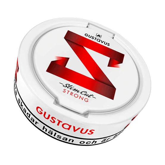 Gustavus Slim Cut Strong White Portion
