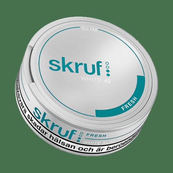 Skruf Slim Fresh White Portion