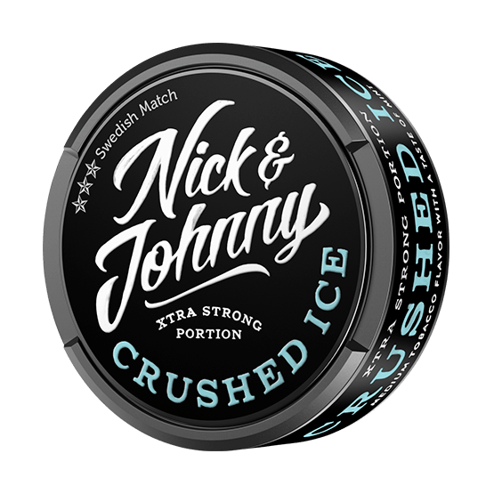 Nick and Johnny Crushed Ice Mint xtra Strong Portion