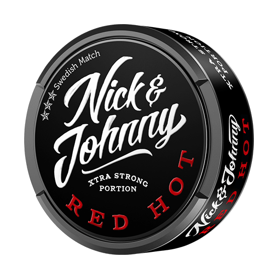Nick and Johnny Red Hot Xtra Strong Portion