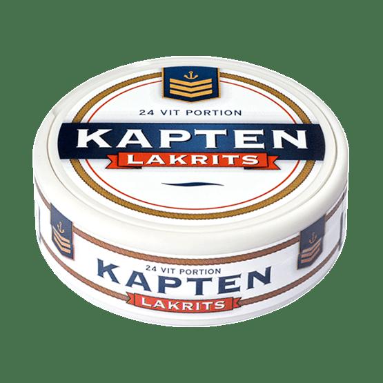 Kapten Lakritze White Portion