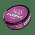 XQ's Licorice Nikotinfrei Portion