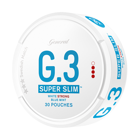 General G.3. Super Slim Mint Strong Portion