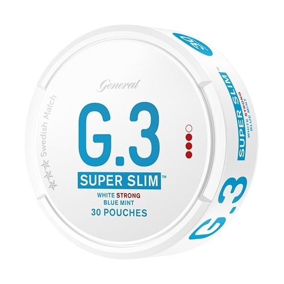 General G3 Super Slim Mint Strong Portion