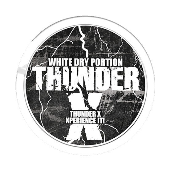 Thunder X White Dry Portion