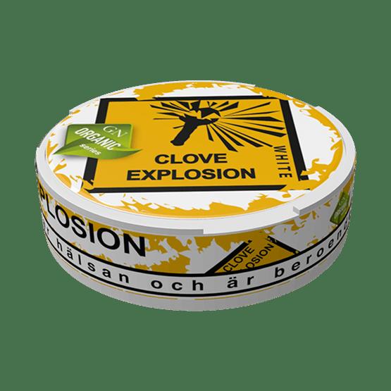 Odens Clove Explosion White Portion Snus