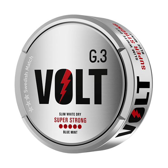 General G.3. VOLT Super Strong Slim White Dry Portion