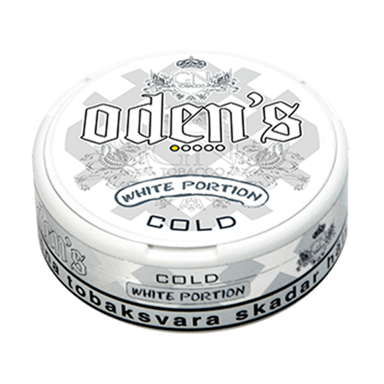 Odens Cold White Portion Snus