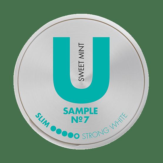 U Sample Sweet Mint No.7 Snus