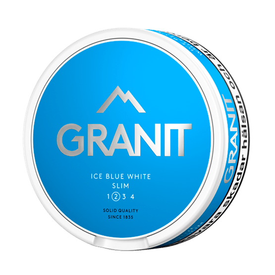 Granit Ice Blue White Slim Portion