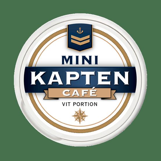 Kapten Mini Café Vit Portion