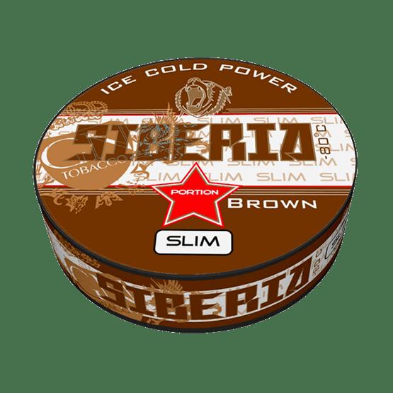 Siberia -80 Degrees Brown Slim Portion