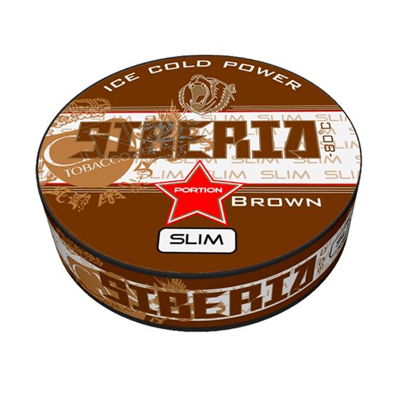 Siberia Brown Slim Portion