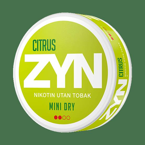 ZYN Citrus 3 mg All White Portion