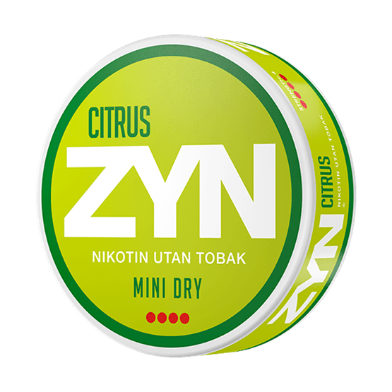 ZYN Citrus 6 mg All White Portion