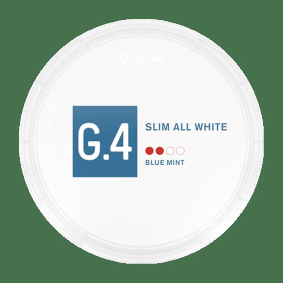 General G4 Blue Mint Slim All White