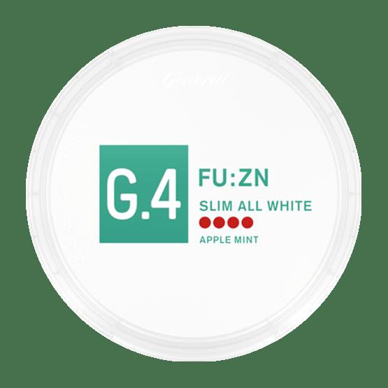 General G4 FU:ZN Slim All White Portion