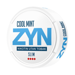 75310853b915 ZYN Slim Cool Mint Extra Strong All White Portion