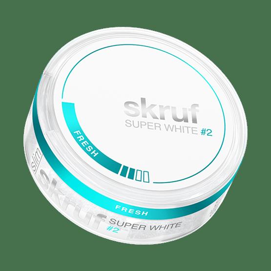 Skruf Super White Slim Fresh Portion