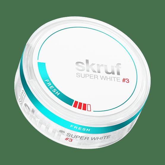 Skruf Super White Slim Fresh Strong Portion