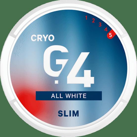 General G4 Cryo Slim All White Portion