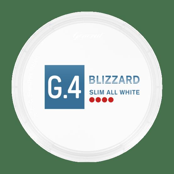General G4 Blizzard Slim All White Portion