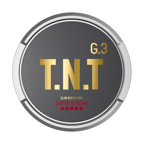 General G3 TNT Slim White Dry Super Strong Portion