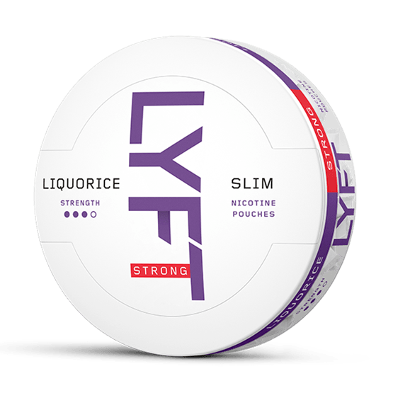 LYFT Lakritze Strong Slim All White Portion