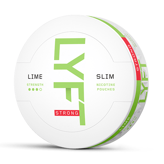 Lyft Lime Slim Strong All White Portion