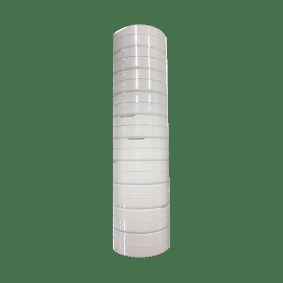 Leere Weiße Snusdose 10er pack