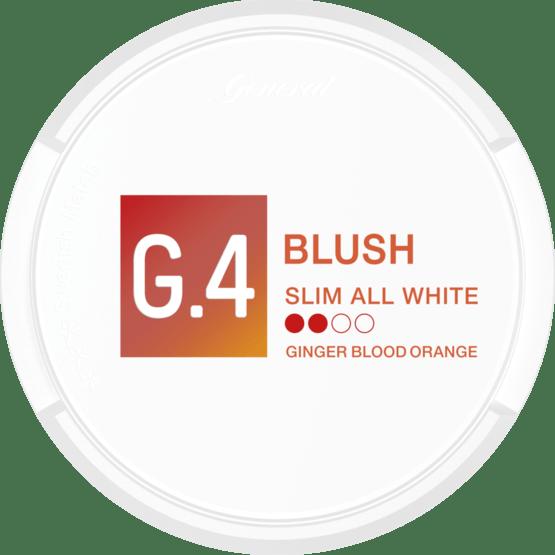 General G4 Blush Slim All White Portion