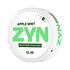ZYN Slim Apple Mint Strong All White Portion