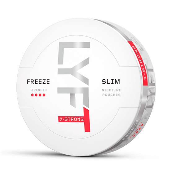 LYFT Freeze X-Strong All White Portion Snus