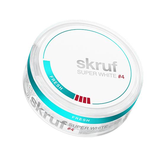 Skruf Super White Slim Fresh Extra Strong Portion