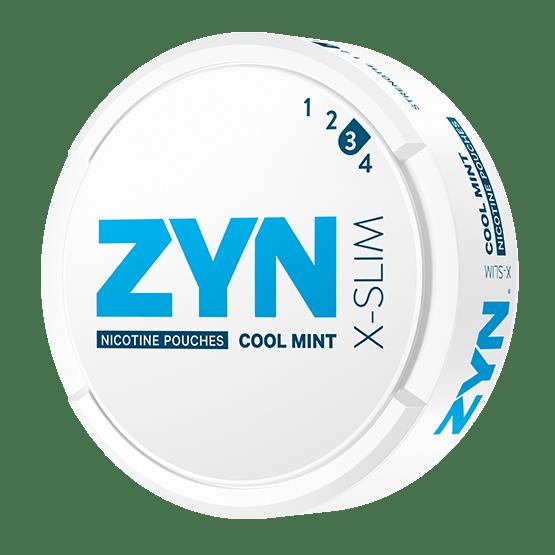 ZYN X-Slim Cool Mint All White Portion