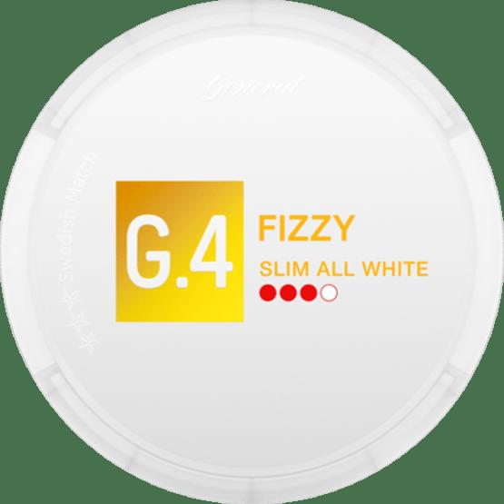 General G4 Fizzy Slim All White Portion